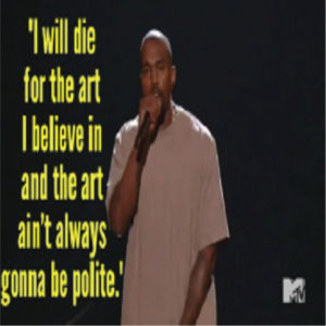 Kanye West & The Art of the Impromptu Speech