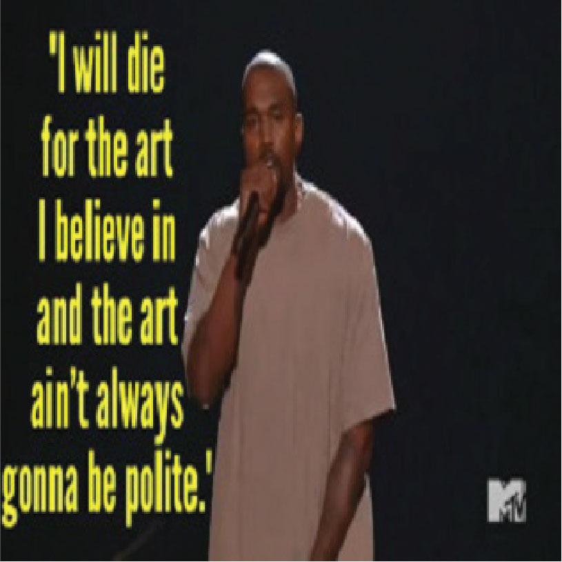 Kanye West & The Art of the Impromptu Speech