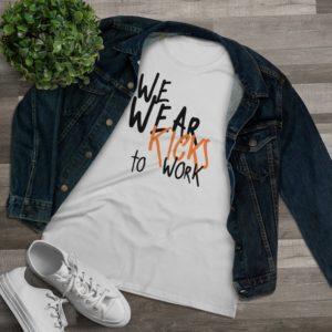 We Wear Kicks Women's Tee